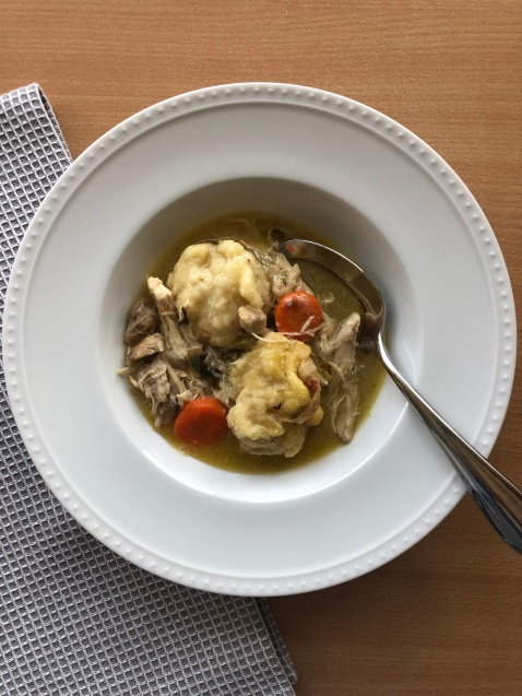 real chicken and dumplings