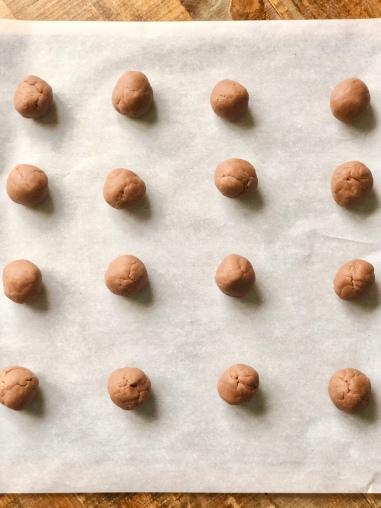 hot chocolate dough balls 2