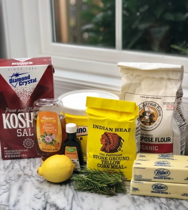 lemon rosemary ingredients