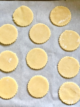 linzer dough cutouts